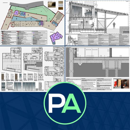 PFC Arquitectura - Ayuda con los detalles constructivos del PFC PFG TFG TFM de arquitectura - Planos detalles constructivos