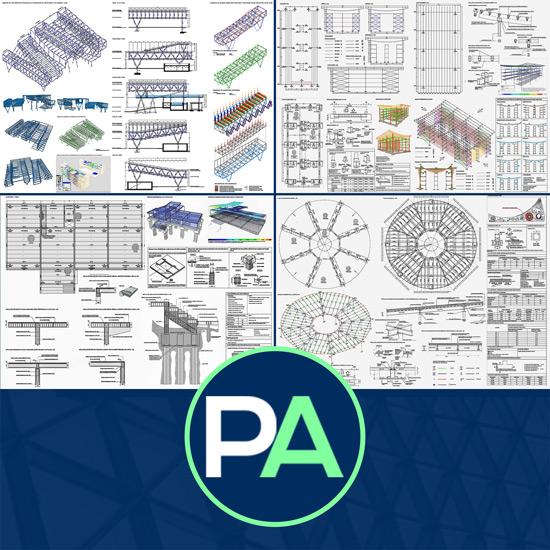 PFC Arquitectura - Ayuda con el diseño y el cálculo de la estructura del PFG TFG TFM de arquitectura